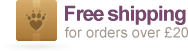 Free Shipping on orders over £20